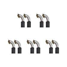 5 Sets of - 2x Carbon Brushes - Makita Cb304 Hammer-Drill (5 X 11 X 18.5/17)