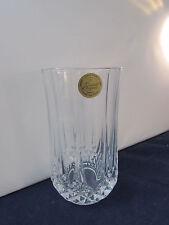 SET OF FOUR - Cristal d'Arques LONGCHAMP 11-1/4oz Tumblers