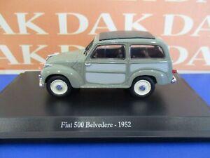 Die cast 1/43 Modellino Auto Fiat 500C Belvedere 1952