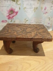 Antique Little  Table / Stool