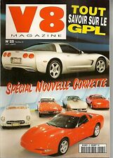V8 MAGAZINE 25 CORVETTE 53 93 COUGAR 70 NOMAD 57 BUICK 1929 BUICK GS 455 71