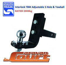 NEW Hayman Reese Interlock TBM Ball Mount 2000kg tow bar shank adjustable 21228