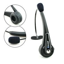 NEW++Trucker over the Head Wireless Bluetooth boom Mic Headset for PS3 PC Phones