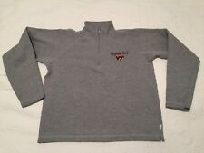 JANSPORT Womens Virginia Tech Hokies Gray Sweatshirt Youth / Ladies Sz L