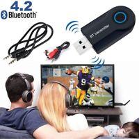 Wireless Bluetooth Sender 4.2 Transmitter USB Audio 3,5 mm AUX FM Sender Adapter