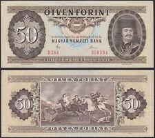 Hungary - 50 Forint Banknotes 1980 Xf Pick 170 (13685