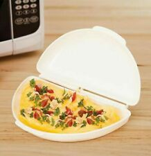 Microwave Omelette Maker - BPA Free Plastic Easy Cook Eggs Food Preparation Tool