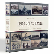 Album für 600 historische Postkarten mit 50 eingebundenen Klarsichthüllen(348003