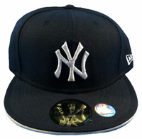 New York Yankees MLB New Era 59FIFTY Size 7 5/8 Fitted Hat Brand New
