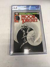 Marvel Comics Moon Knight # 15 CGC Graded 9.0
