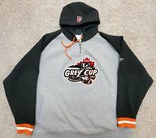Vintage CFL 93rd Grey Cup Hooded Sweatshirt Edmonton Eskimos Montreal Alouettes