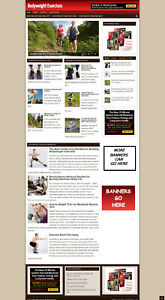 BODY WEIGHT EXERCISES WEBSITE WITH SSS CERTIFICATE + NEW DOMAIN