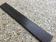 Slotted Ebony Classical Fretboard.