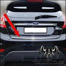 Striscia cromata portellone Ford Fiesta dal 2009 profilo baule cromato Cromatura