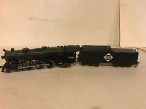 "Vintage AHM- Rivarossi "" Erie"", 4-6-2 Steam Locomotive"