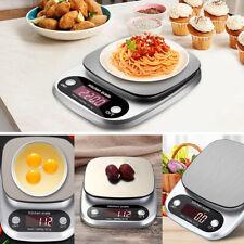 Digital Küchenwaage Feinwaage 10KG/1g Edelstahl Kitchen Scale LCD Haushaltswaage