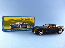 Voiture miniature Matchbox Superfast 24 - Chevrolet Corvette 2005  - En boîte