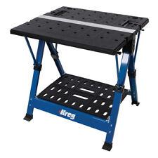 Centro De Mesa De Trabajo Estación de trabajo proyecto Kreg móvil fuerte carpintería 483159