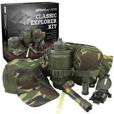 regalo in scatola da bambini Militare Esploratore Kit CAPPELLO TORCIA BORSA
