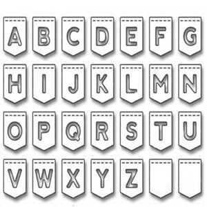 26 Letter Cutting Die 2021 New Alphabet Mold Metal Cutting Die Embossing Folder