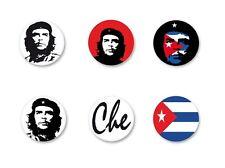 Lot Magnet Aimant Ø38mm Che Guevara le Che Cuba revolucion revolution Castro