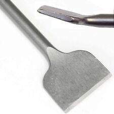 Cranked Tile removing Chisel Angled Offset wall floor Plaster Lifter SDS+ Hilka