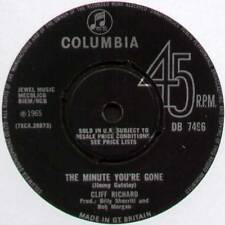 """CLIFF RICHARD ~ THE MINUTE YOU'RE GONE / JUST ANOTHER GUY ~ 1965 UK 7"""" SINGLE"""