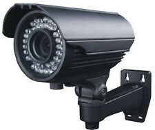 Camera de Video Surveillance Full HD Infrarouge Extérieure CCD Grand Angle Zoom