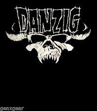 DANZIG cd cvr SKULL LOGO Official SHIRT SMALL New samhain misfits