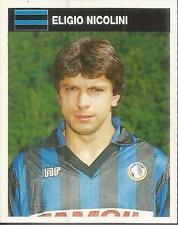 [AA] FIGURINA CAMPIONI & CAMPIONATO 1990/91-ATALANTA-NICOLINI