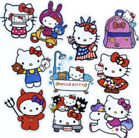RARE! 10 Large Hello Kitty Waterproof Kawaii Stickers For Laptop Hydro Flask