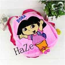 PINK Dora Backpack Girls Preschool The Explorer Dora Rescue Bag schoolbags