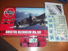 AIRFIX A04017 + INSCALE AC019 - Bristol BLENHEIM Mk.IVF & FINNISH decals 1/72