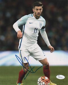 England Adam Lallana Autographed Signed 8x10 Photo JSA COA