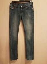 DIESEL Industry Women's Medium Wash Skinny  Denim Jeans Size 26W x 29L