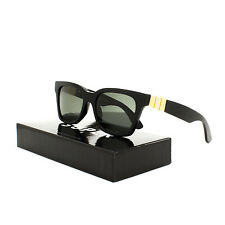 Super Sunglasses S1W America Gianni Black & Gold by RETROSUPERFUTURE