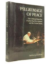 PILGRIMAGE OF PEACE - John Paul II - 1980 - 1st Am ed, Catholic pope