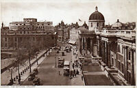 LONDON - The National Gallery - Real Photo Postcard c1940 (120L)