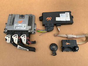 2011 Mini Cooper S 6 Speed ECU ECM DME Engine Computer CAS3 Ignition Switch Set