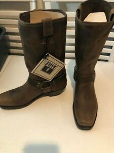Frye Harness Boot Brown size 10 Womens
