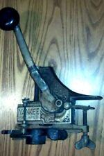 New listing Antique Yankee Pat. Apl'd Wine Bottle Corker Usa Circa 1900's