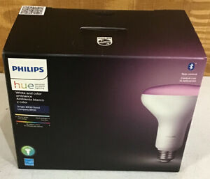 Philips Hue White & Color Ambiance BR30 Bluetooth Smart LED Bulb - Multicolor