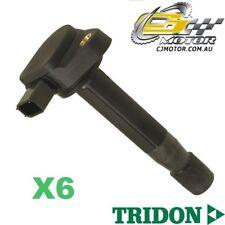TRIDON IGNITION COIL x6 FOR Honda  Legend KB 01/06-01/07, V6, 3.5L J35A