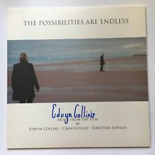 EDWYN COLLINS - THE POSSIBILITIES ARE ENDLESS HAND SIGNED  RECORD AUTOGRAPHED