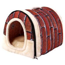 Haus Kennel Höhle Katze Nest Hundebett Abnehmbar Warm Haustier Hund Soft Bett