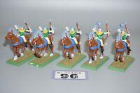 Warhammer Fantasy Age of Sigmar Wood Elves Horse Archers x 5 - LOT 96