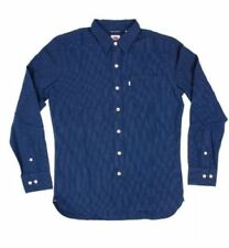 Regular Size Striped Western Casual Shirts for Men