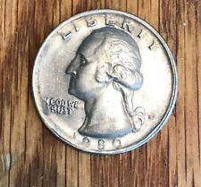 25 центов с изображением Вашингтона