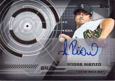 2014 Topps Certified Autograph Andre Rienzo Chicago White Sox