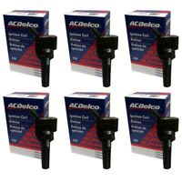 ACDelco BS-C1558 High Performance Ignition Coil Set (6) For Chevrolet GMC Hummer